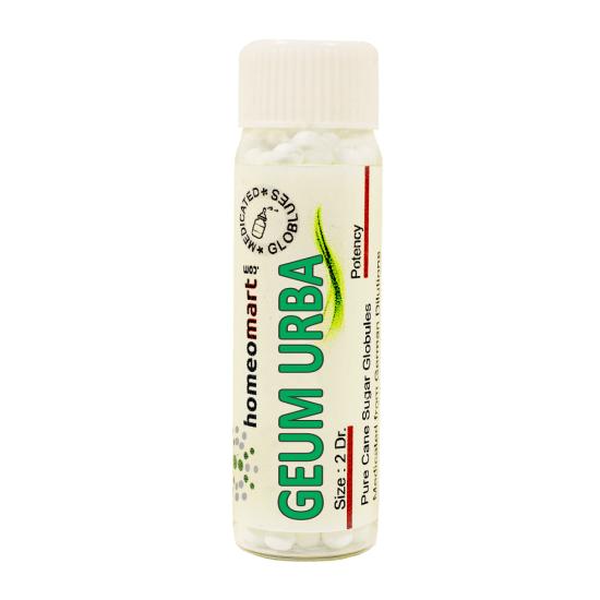 Geum Urbanum Homeopathy 2 Dram Pellets 6C, 30C, 200C, 1M, 10M