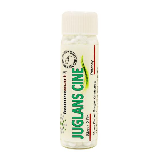 Juglans Cinerea Homeopathy 2 Dram Pellets 6C, 30C, 200C, 1M, 10M