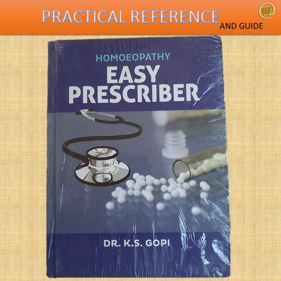 Homeopathy Easy Prescriber book by Dr.K S Gopi