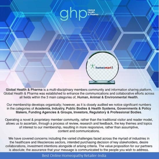GHP Social Care Award 2021 to Homeomart