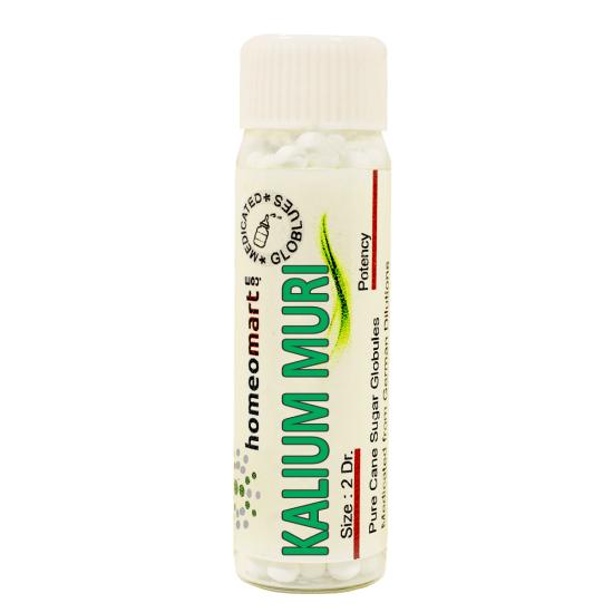 Kalium Muriaticum Homeopathy 2 Dram Pellets 6C, 30C, 200C, 1M, 10M