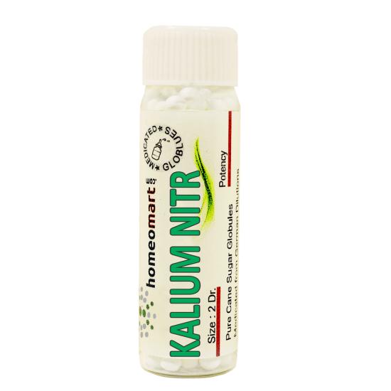 Kalium Nitricum Homeopathy 2 Dram Pellets 6C, 30C, 200C, 1M, 10M