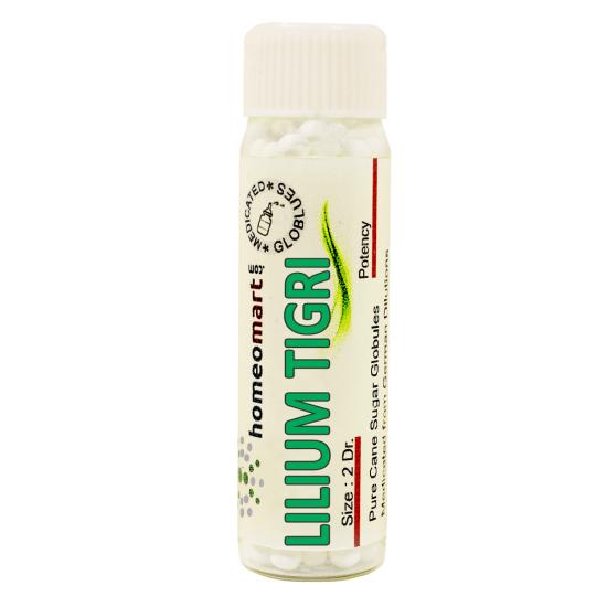 Lilium Tigrinum Homeopathy 2 Dram Pellets 6C, 30C, 200C, 1M, 10M