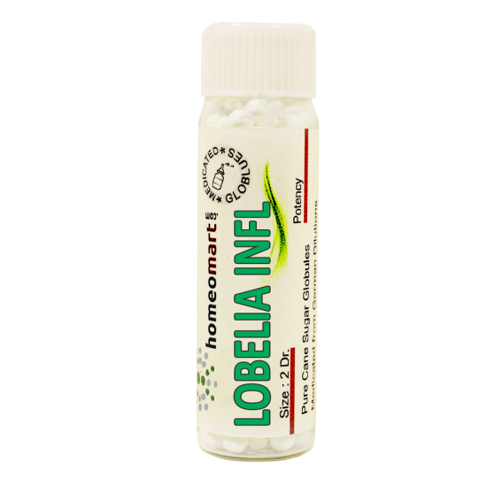 Lobelia Inflata Homeopathy 2 Dram Pellets 6C, 30C, 200C, 1M, 10M