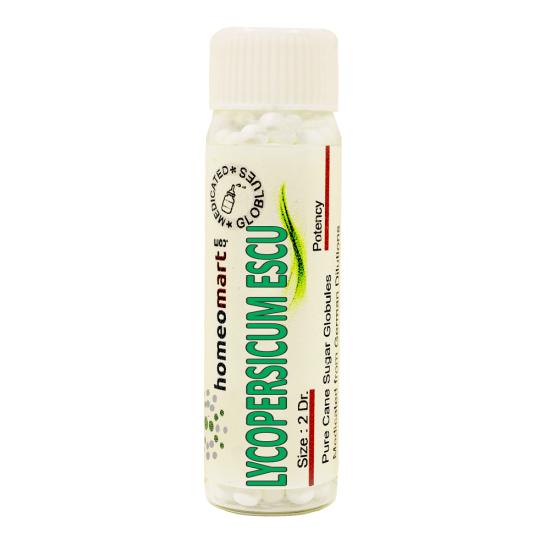 Lycopersicum Esculentum Homeopathy 2 Dram Pellets 6C, 30C, 200C, 1M, 10M
