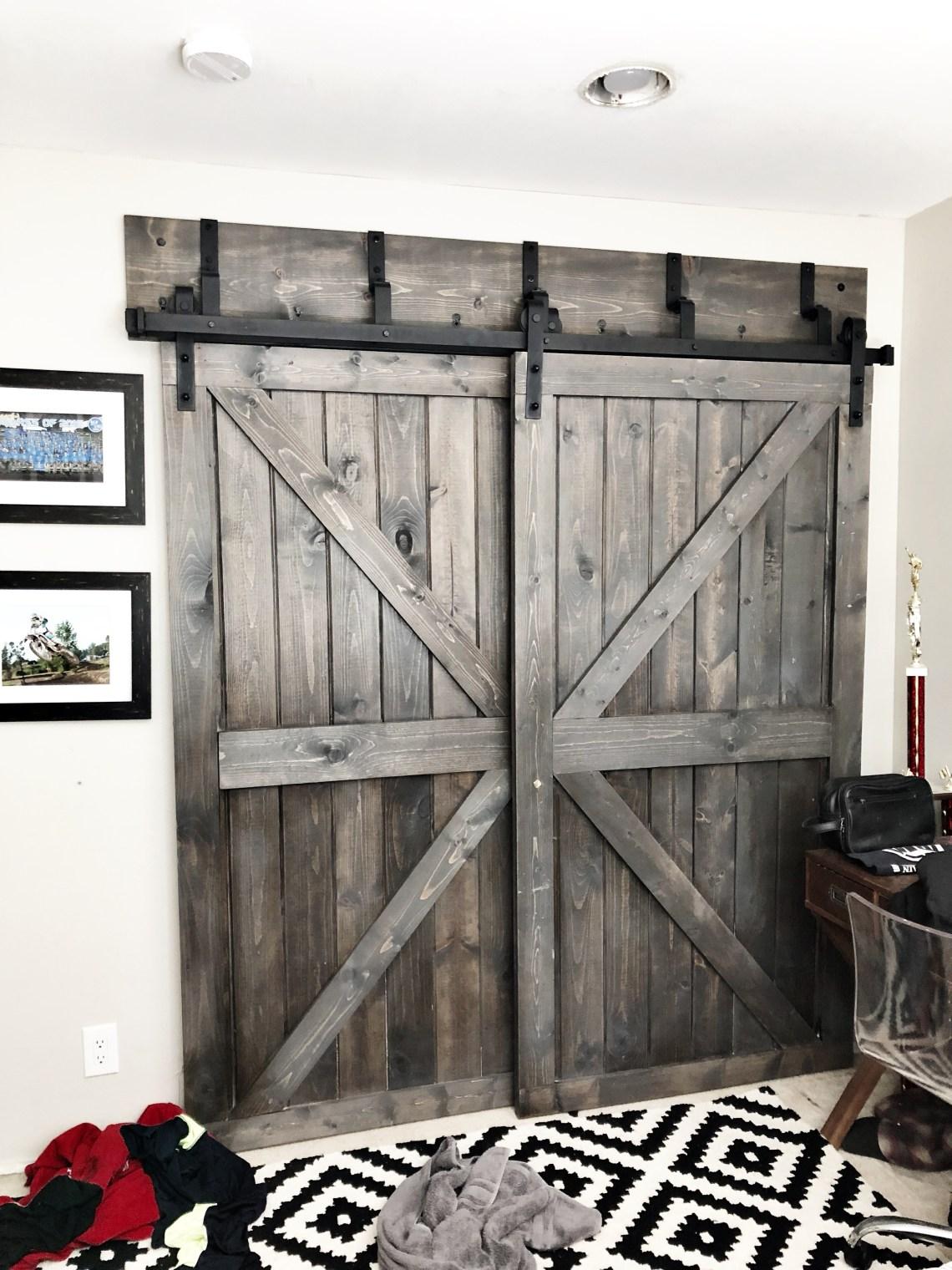 Ceiling Mount Barn Door Hardware