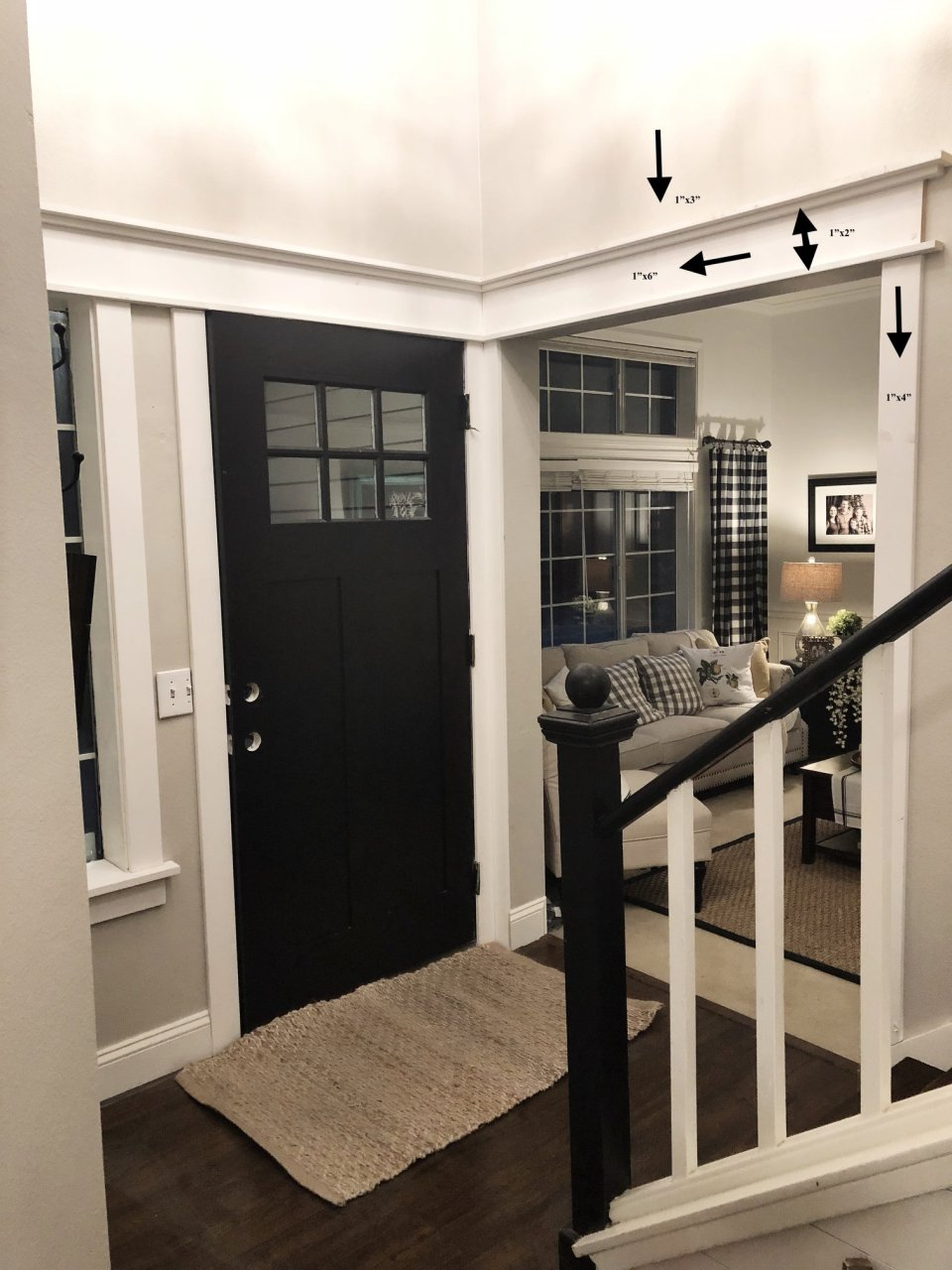 MY ONE ROOM CHALLENGE-ENTRY WAY-WEEK 1