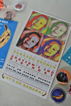 andy warhol invitation banana 2nd birthday zoo colorful