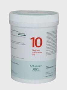 Natrium sulfuricum 10 D6 Schussler