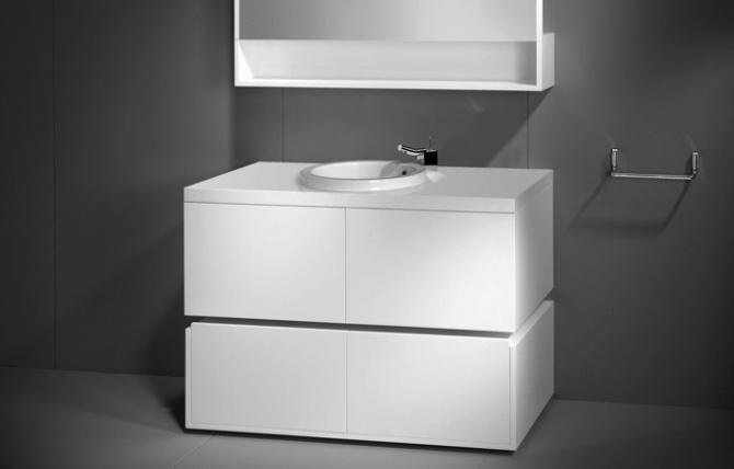 WCA bathroom cabinet