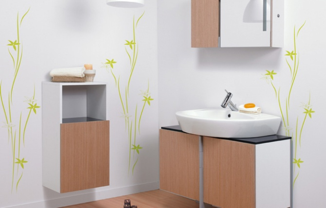 New day bathroom cabinet