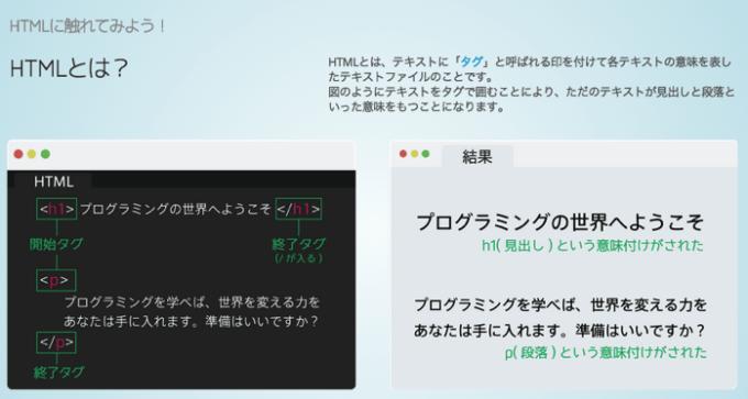 ProgateでHTMLを学ぶ