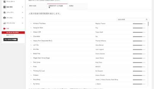 YouTubeで著作権侵害にならないために曲の著作権を確認する方法。
