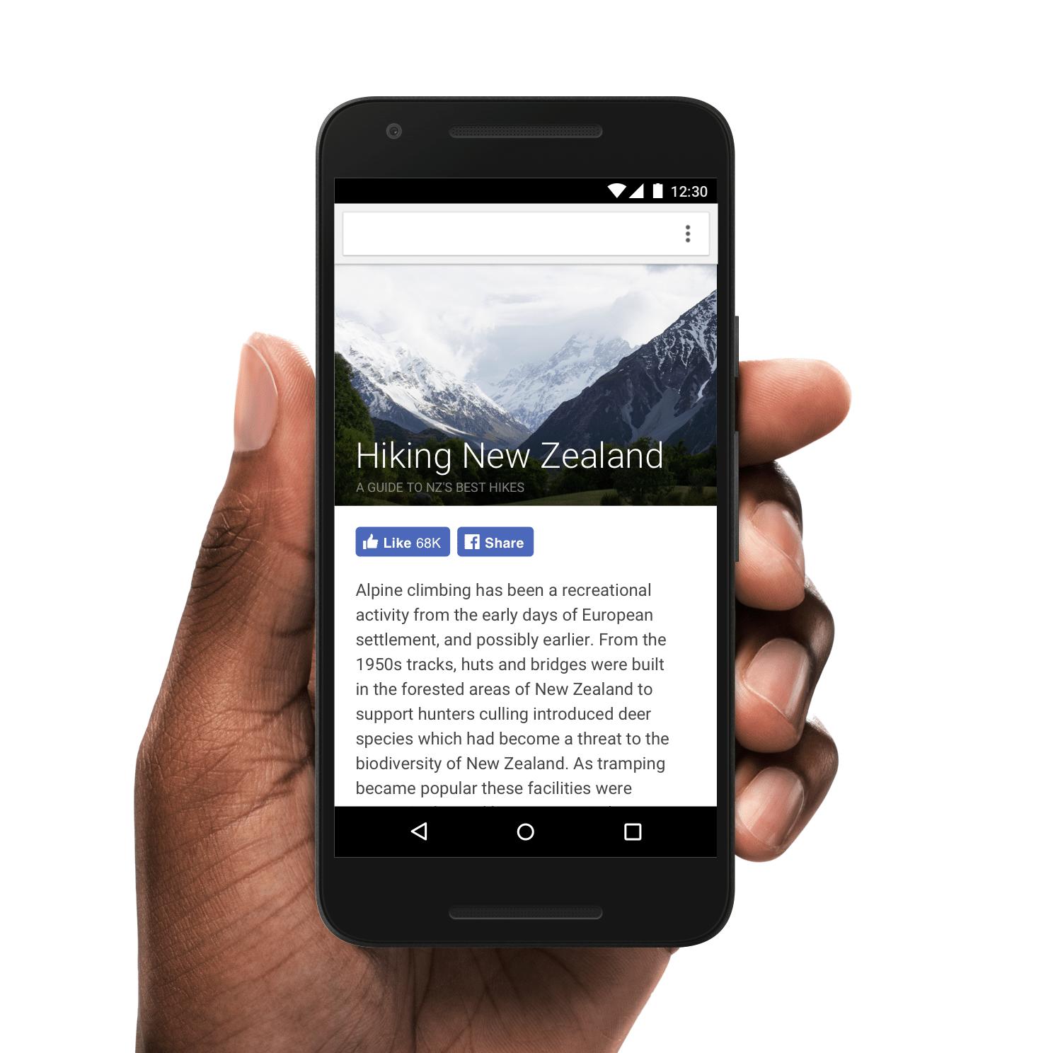 出典元:New Ways to Share, Save and Engage - 開発者向けFacebook