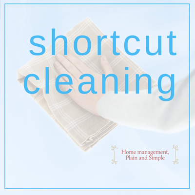 Shortcut Cleaning