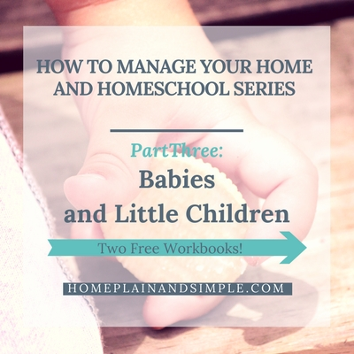 Homeschool Home Management Little People