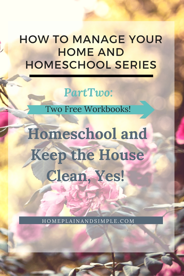 How to keep the house clean, the family fed, homeschool the children, and keep the side-line hustle going is the number one question I get in my inbox. Homeschooling and home management, how to fit it all into the days? How to homeschool and do all the rest of life, to get control of time, to not go crazy with this crazy life?