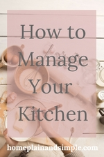 How to Manage Your Kitchen