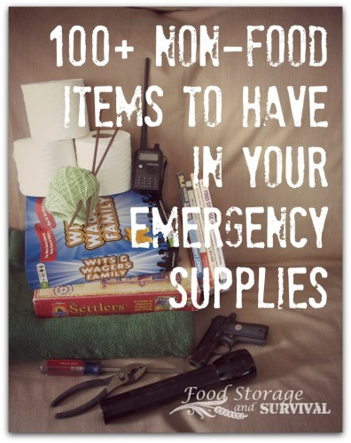 Emergency Supplies – What Non-Food Items to Have