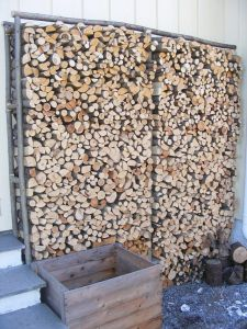 DIY Firewood racks