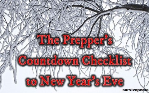 Winter preparation checklist
