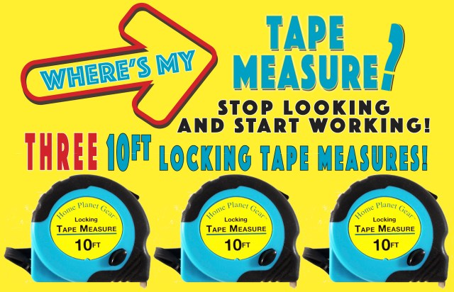Where's My Tape Measure?