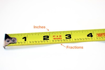 tape measure close up