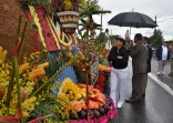 170610-N- HM829-003 PORTLAND, Ore. (June 10, 2017) Vice Adm. Nora Tyson, commander of U.S. 3rd Fleet, attends the Grand Floral Parade float preview during Portland Rose Festival Fleet Week 2017. The festival and Portland Fleet Week are a celebration of the sea services with Sailors, Marines, and Coast Guard members from the U.S. and Canada making the city a port of call. (U.S. Navy photo by Mass Communication Specialist 2nd Class K. Cecelia Engrums/Released)