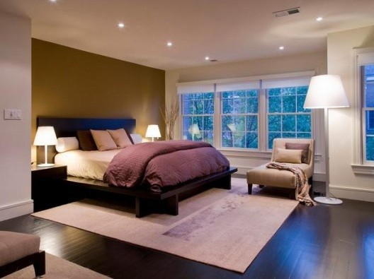 recessed bedroom ceiling lighting | home interiors