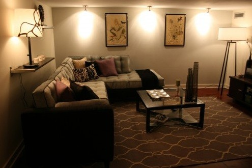 Track lighting ideas for living room to make your living ... on Wall Lighting For Living Room id=20669