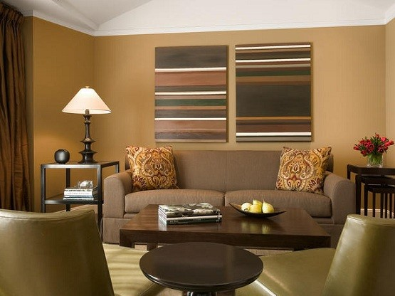 Color Ideas For Living Room Walls Dark Brown Home Interiors Part 41