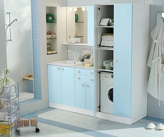 Simple small laundry room organization ideas   Home Interiors on Small Laundry Room Organization Ideas  id=43597