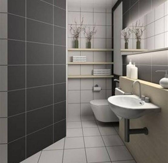 Modern Small bathroom tile designs ideas | Home Interiors on Small Space Small Bathroom Tiles Design  id=16065