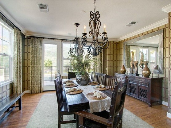 Dining Room Lighting Ideas And The Arrangement Tips Chandelier Traditional