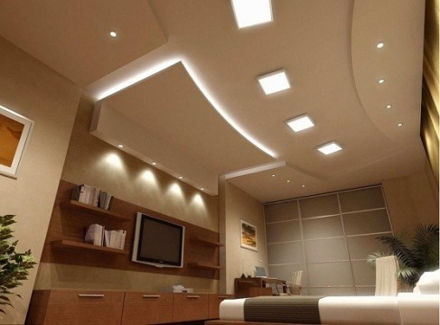 Low Bedroom Ceiling Lights Ideas   Bedroom Lighting Design   Home     Beautiful bedroom ceiling lights ideas