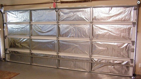 Double Garage Door Insulation Kit