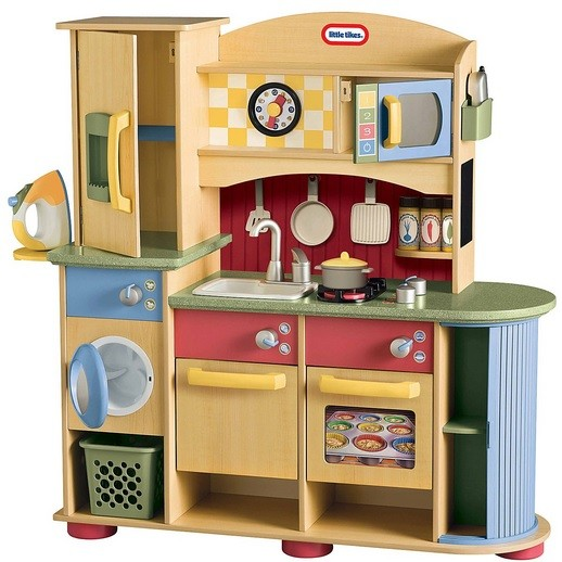 Play Kitchen Sets Your Kids Wooden Set