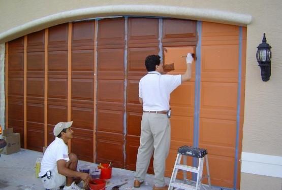 How to Paint Garage Door Efficiently and Perfectly | Home ... on Garage Door Color  id=65139