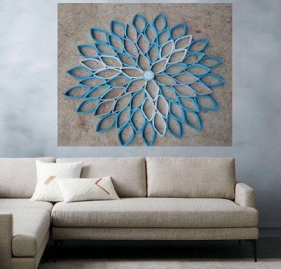 Creative Wall Art Ideas for Living Room Decoration | Home ... on Creative Wall Art Ideas  id=61493