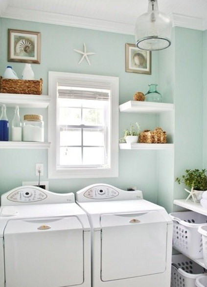 10 beach themed laundry room ideas you ll love home on small laundry room paint ideas with brown furniture colors id=21450