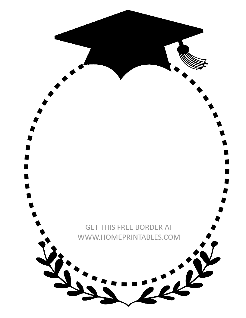15 Free Graduation Borders {With 5 NEW Designs!} - Home ...