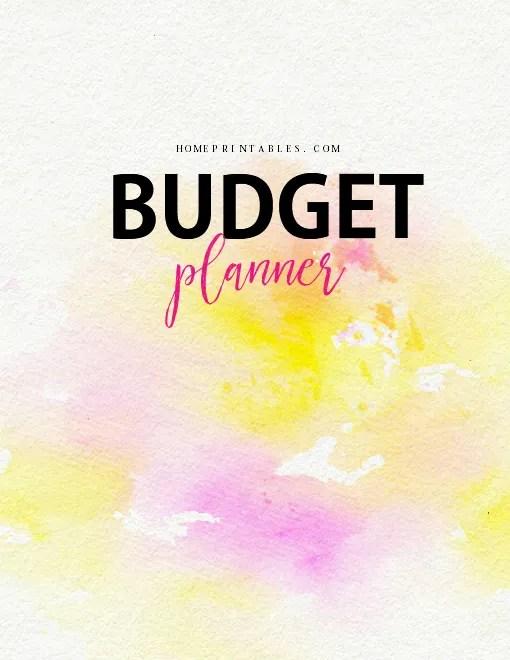 free budget binder 2018