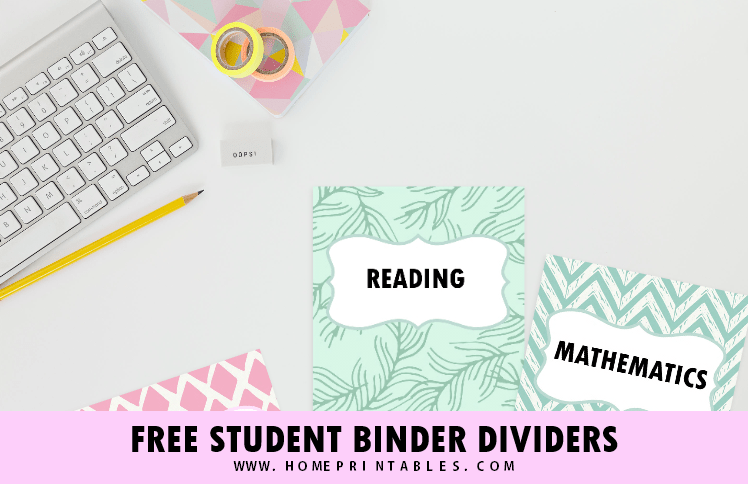 image about Printable Binder Inserts titled Totally free Higher education Binder Divider Printables: Entertaining and Lovable Templates!