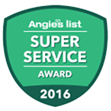 Super service award for Home Inspector Roger Williamson