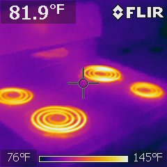 Electric range at kitchen, interesting photo