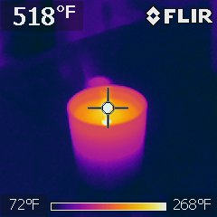 Incandescent light bulb, consider switching to cooler LED light bulbs