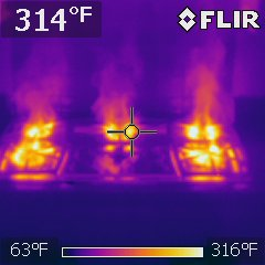 Gas range at kitchen, interesting photo