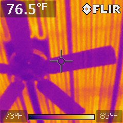 Infrared during home inspection