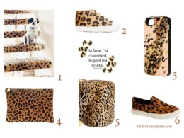 Trend Alert: Leopard via HOMErandRuth.com