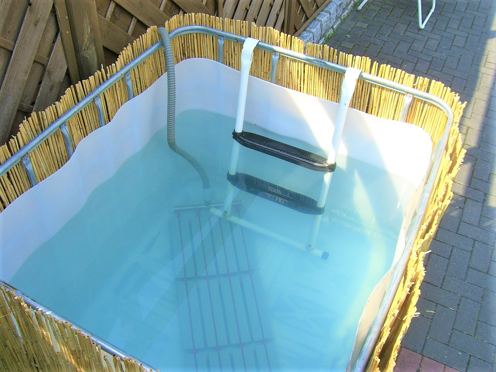 5 Geniuses Who Built Their Own Diy Above Ground Swimming Pools Home Rebellion